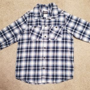 Osh Kosh Boys size 7X Long Sleeve Flannel Shirt